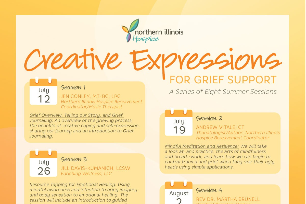 Creative Expressions for Grief Support